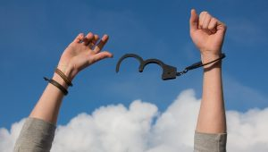 breaking free from handcuffs