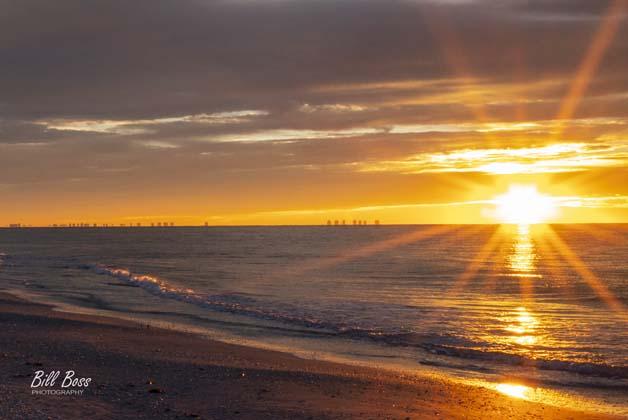 Brilliant sunrise